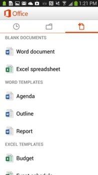 Office, la versione androide | My technocorner | Scoop.it