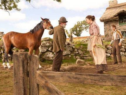 """Celebrity for the World: Emily Watson in Steven Spielberg's new project """"War Horse"""" 