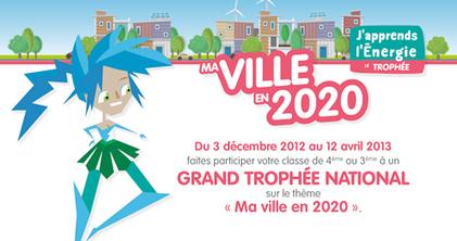 «Ma ville en 2020», un Trophée qui rassemble et qui mobilise | TICE-en-classe | Scoop.it