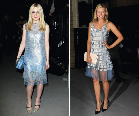 New York Fashion Week Mini Trend: Ice Blue Dresses | wedding and event | Scoop.it