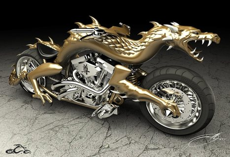 3D printing makes dragon bike a reality   3-D Printing Stories   Scoop.it