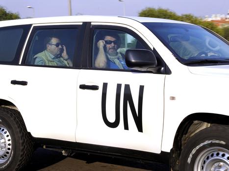Chemical weapons inspectors arrive in Syria - MSNBC | Social Studies Education | Scoop.it