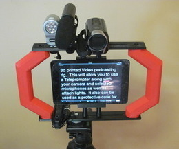 Video Podcasting Rig and Teleprompter | DIY | Maker | Scoop.it