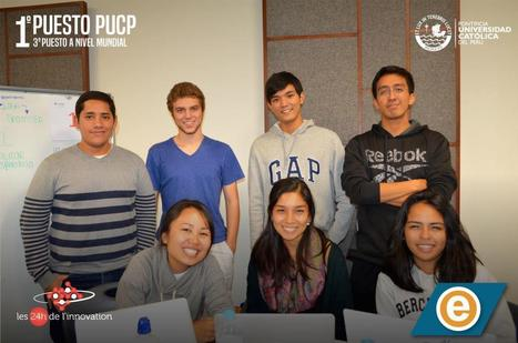 """PUCP wins two international awards in the """"24 hour of innovation - global Hackathon"""" 
