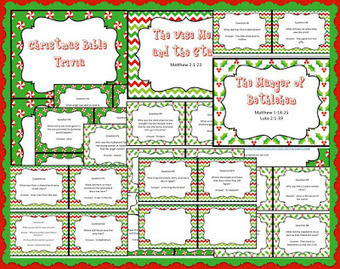Bible Lessons for Kids: Christmas Bible Trivia Free Printable Question Cards | Children's Ministry Ideas | Scoop.it
