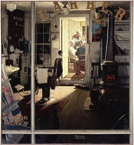 The Photographs Norman Rockwell Used to Create His Famous Paintings | Visual Culture and Communication | Scoop.it