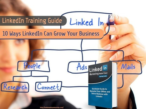 LinkedIn Training Guide - 10 Ways LinkedIn Can Grow Your Business | Social Media Training & Certifications | Scoop.it