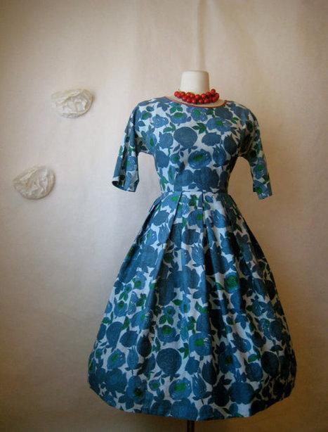 1950s dress | Vintage and Retro Style | Scoop.it