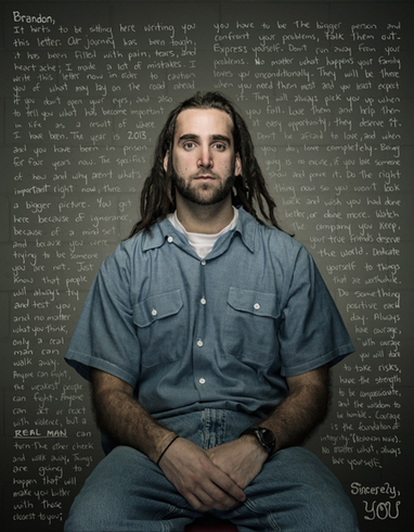 Trent Bell Exhibits REFLECT: Convict's Letters to Their Younger Selves | Idea Inspired Photography Projects | Scoop.it