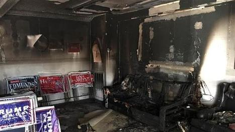 PressTV-Republican office firebombed in N Carolina | Business Video Directory | Scoop.it