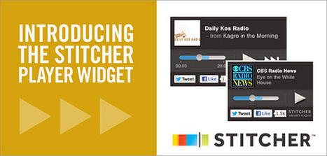 Introducing The Stitcher Player Widget | Podcasts | Scoop.it