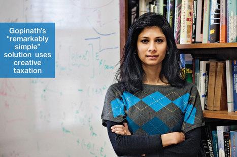 Harvard Economist Gita Gopinath Offers a Euro Cure   IB Economics Regent's Bangkok   Scoop.it