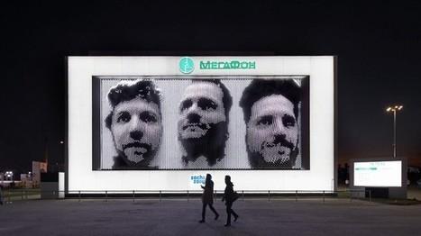 Les russes s'essayent au selfie géant en 3D | streetmarketing | Scoop.it