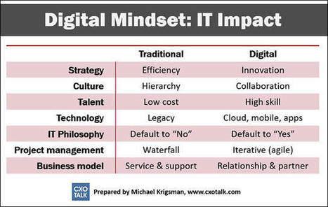 CIO survival: Digital mindset and the impact on IT   End User Computing   Scoop.it