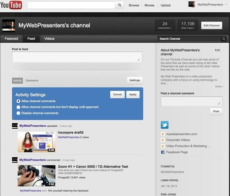 Set Up Your YouTube Channel for SEO Success | The Social Media Marketing | Scoop.it