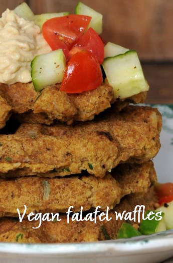 Meatless Monday with Vegan Falafel Waffles | My Vegan recipes | Scoop.it