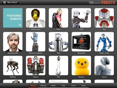iPad robot app from IEEE Spectrum | The Robot Times | Scoop.it