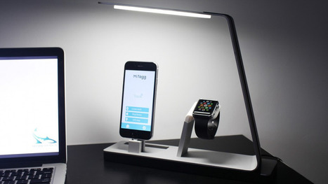 This LED lamp charges an iPhone, an Apple Watch and a battery pack | Macwidgets..some mac news clips | Scoop.it