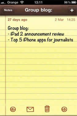 Top Built-In iPhone Apps for Journalists | Mobile Journalism Apps | Scoop.it