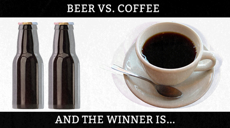 Is it better to drink beer or coffee at work? | LifeBank | Scoop.it