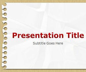 Notepad PowerPoint Template   Field Trip   Scoop.it