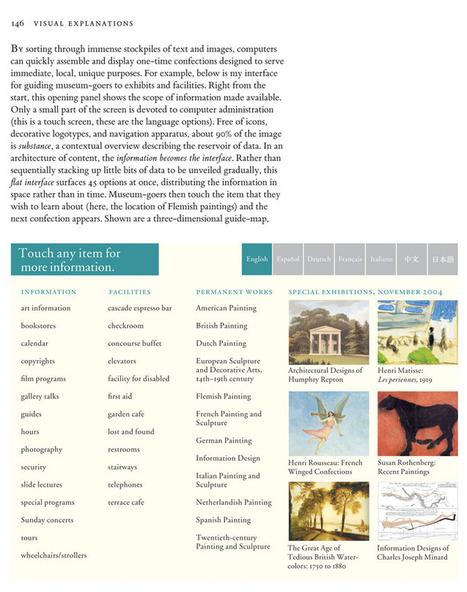 Edward Tufte forum: iPhone interface design | Visual Design Resources for Instructional Design | Scoop.it
