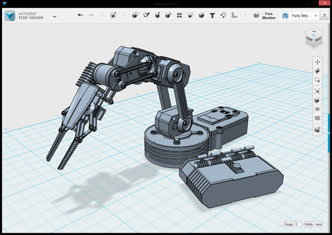Autodesk 123D Design : Simplest way to get your ideas into 3D | Time to Learn | Scoop.it