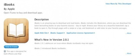 Apple modifies EULA for iBooks: Lays no claim to content, allows authors to distribute elsewhere | 9to5Mac | Apple Intelligence | The many ways authors are using Apple's iBooks Author and iBooks2 | Scoop.it