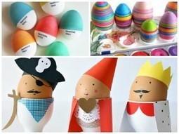 20 Fresh Ways to Decorate Easter Eggs   Idées de DIY   Scoop.it