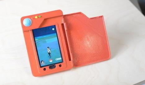 Una carcasa con forma de Pokédex, batería extra y para imprimir en 3D | Bits on | Scoop.it