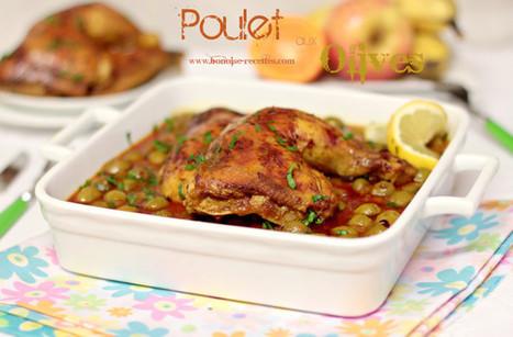 Poulet aux olives   cuisine algerienne et recettes de ramadan   Scoop.it