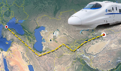 'New Silk Road' rail line to link E. Turkestan and Turkey #Scm #Logística | AKC WEBTECH (P) LTD | Scoop.it