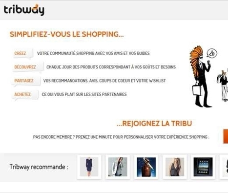 Tribway, nouveau réseau de social shopping | CommunityManagementActus | Scoop.it