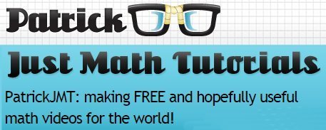 PatrickJMT: FREE useful maths videos! | technologies | Scoop.it