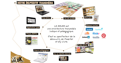 LUDOVIA TV: L@-KOLOK : 1ère web-fiction interactive et pédagogique | fle&didaktike | Scoop.it