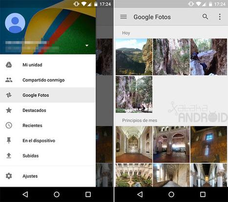 Así es Google Fotos en Drive, la integración que dejó fuera la copia de seguridad automática | Recull diari | Scoop.it