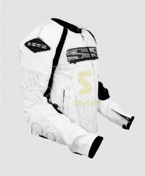 Speed & Strength Vigor 'Twist of Fate 2.0' White Jacket great value for bikers. | Biker stylez leather jackets | Scoop.it