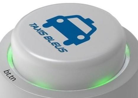 Le bouton connecté Taxis Bleus, tellement plus simple qu'un coup de fil ! | Personnalisation des services | Scoop.it