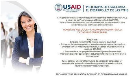 Tweet from @USAIDES | empresarial de mujeres | Scoop.it