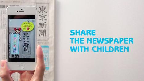 Tokyo Newspaper, la réalité augmentée et une nouvelle jeunesse | E-commerce, M-commerce : digital revolution | Scoop.it