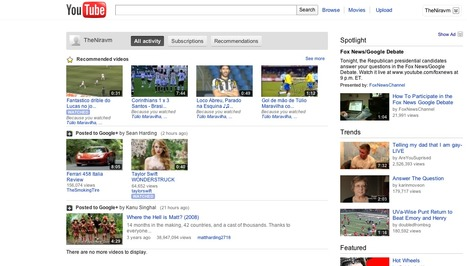 Google+ Youtube Connection Rolled Out « PlusHeadlines.com   Libraries and social media   Scoop.it