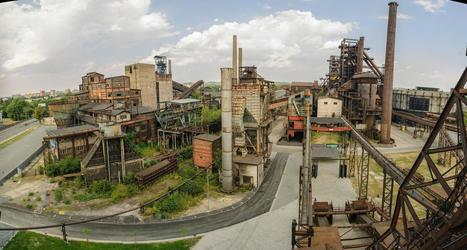 Abandoned factory in Ostrava, Czech Republic. Taken from a blast furnance. [2... | Rebrn.com | Modern Ruins | Scoop.it