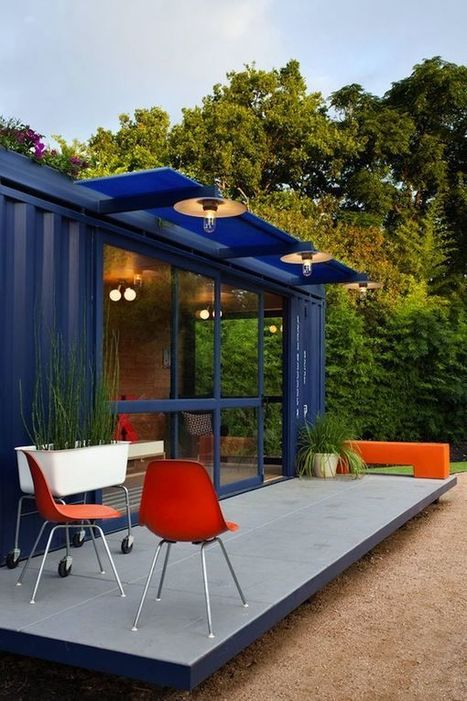Top 10 Shipping Container Tiny Houses | Living Little | Scoop.it