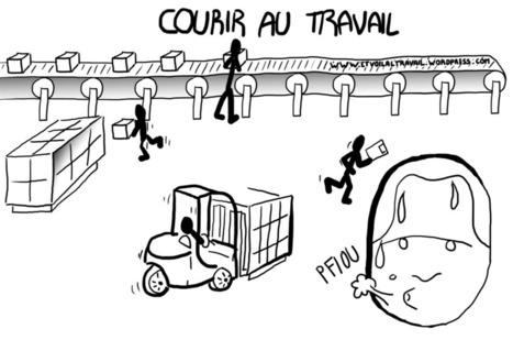 #057. courir au travail | Grandjean Romain | Scoop.it