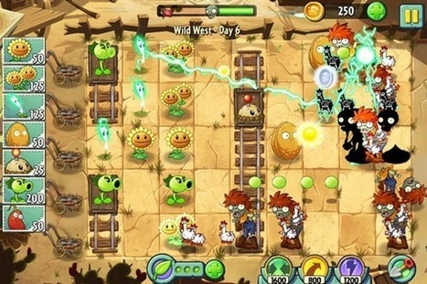 Plants vs Zombies 2 completamente grátis para iOS e Android | Nerd & Geek Stuff | Scoop.it