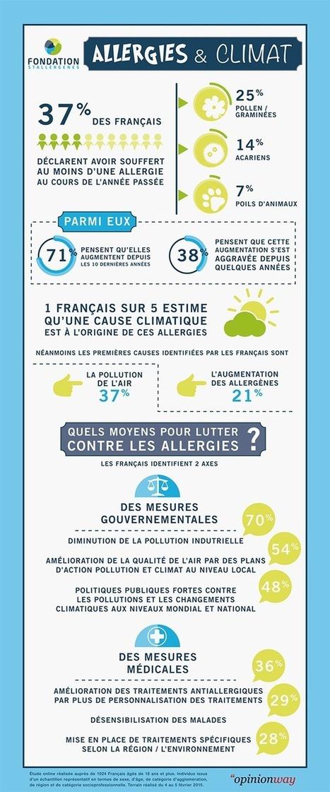 Infographie : allergies et climat - Buzz-esanté | Buzz e-sante | Scoop.it
