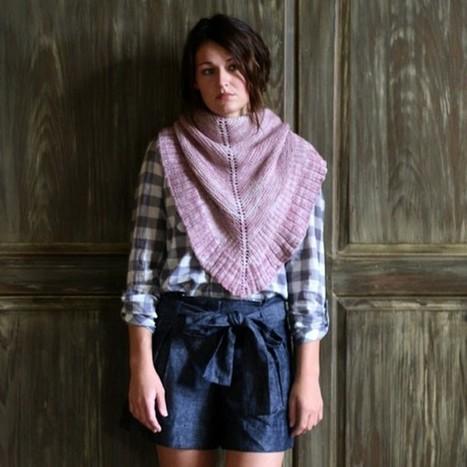 Madelinetosh - Mara Shawl | Needle and Hook Patterns-all free | Scoop.it