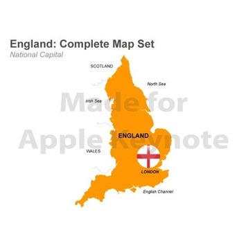 Editable England Map Template for Apple Keynote | MAPS  Ideas, Examples, Resources | Scoop.it