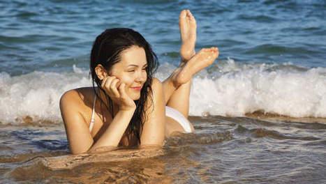 Zwemmen in zee: goed voor gezondheid én seksleven - Het Laatste Nieuws | Voeding en vrouw in de overgang | Scoop.it