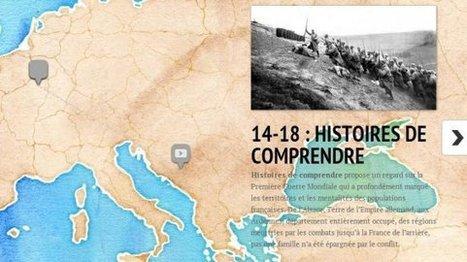 La carte interactive de la ligne de Front de la Grande Guerre 14-18 - France 3 Picardie | Centenaire Première Guerre mondiale - Académie de Rennes | Scoop.it